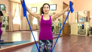 Want Defined Shoulders? Do These Flex-Band Exercises!